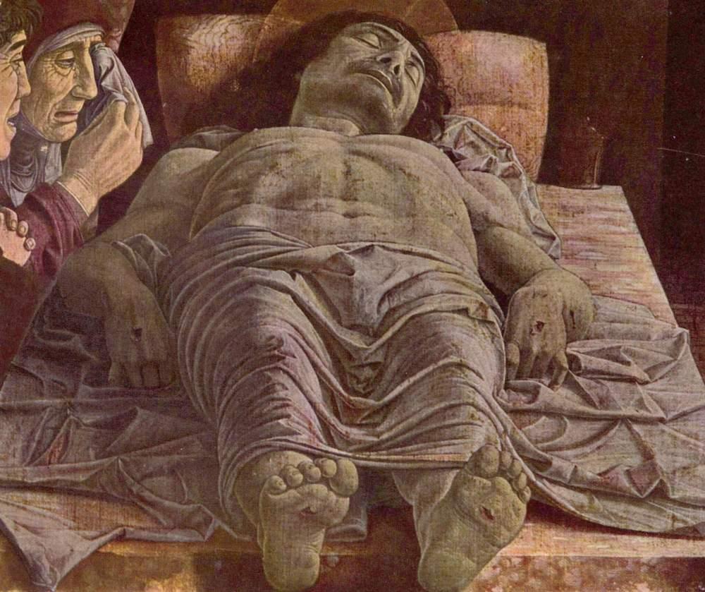 Alt La Lamentation sur le Christ mort - Andrea Mantegna