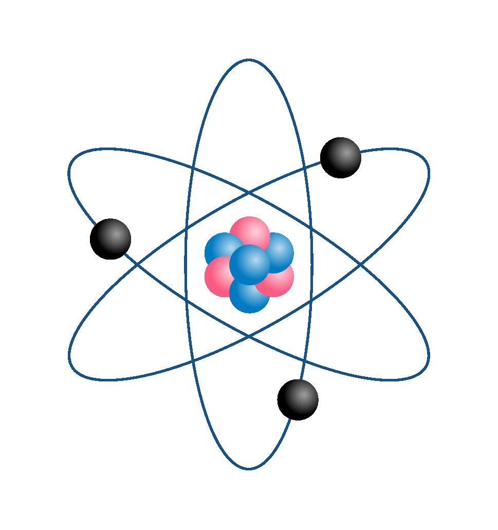 Schéma d'un atome de Lithium
