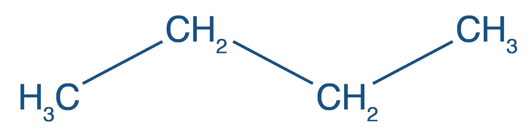 Formule développée du butane