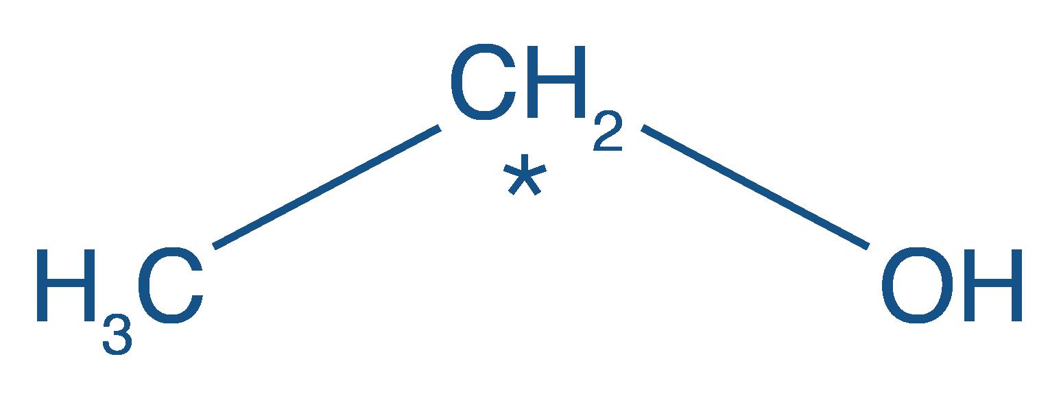 Formule développée de l'ethanol
