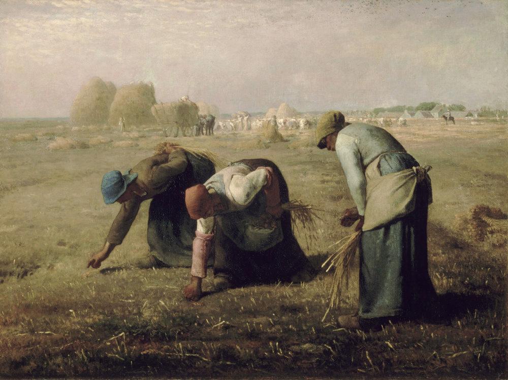 Alt Les Glaneuses, Jean-François Millet, 1857