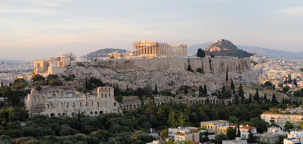 L'acropole d'Athènes ©Christophe Meneboeuf