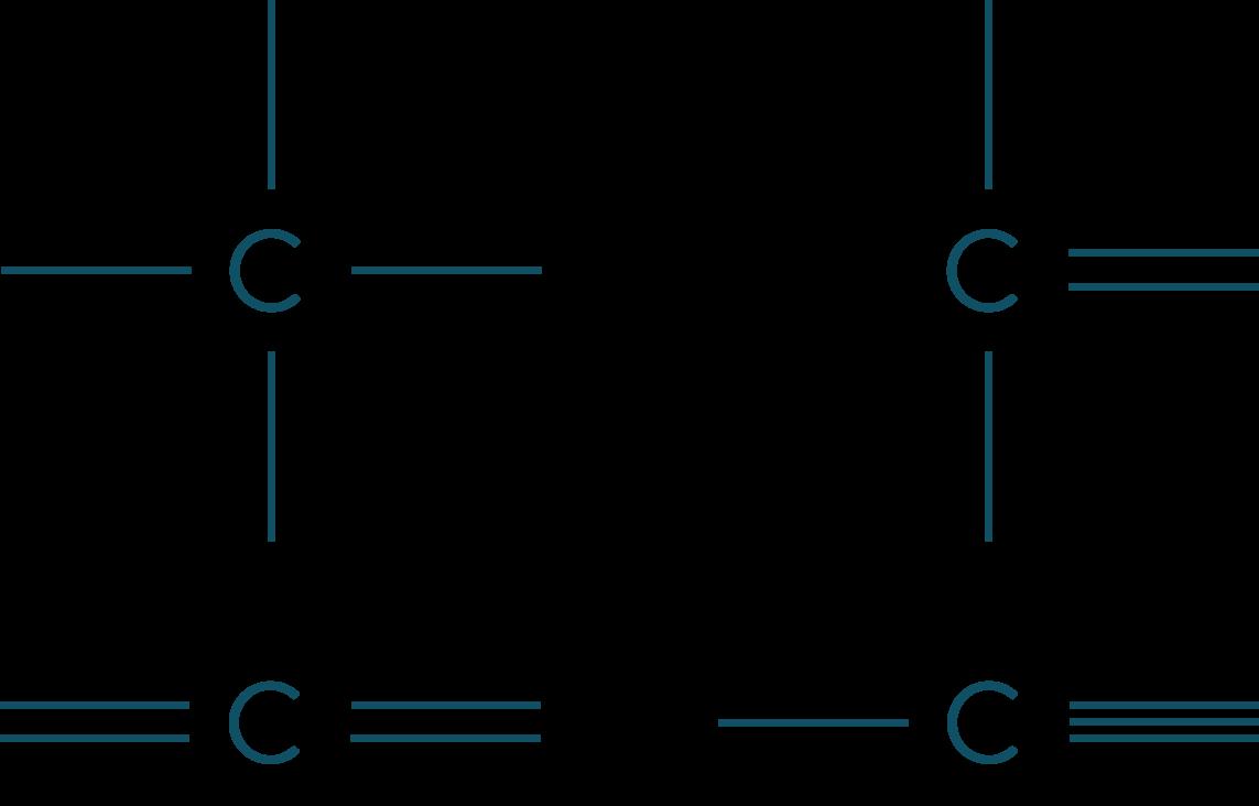 Les différentes liaisons de l'atome de carbone physique-chimie seconde