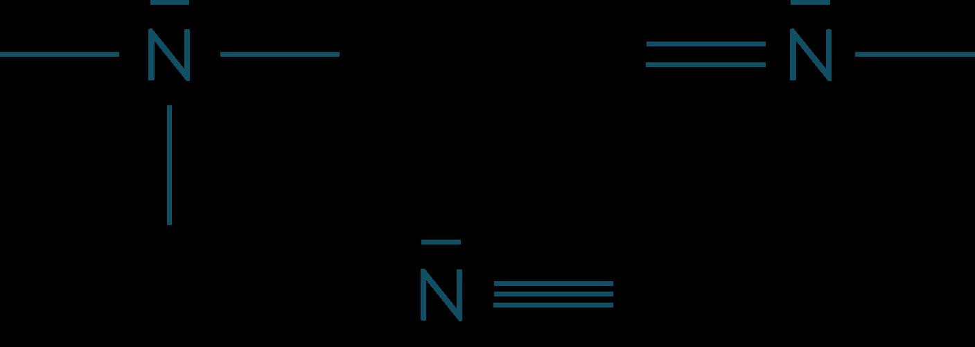 Les différentes liaisons de l'atome d'azote physique-chimie seconde