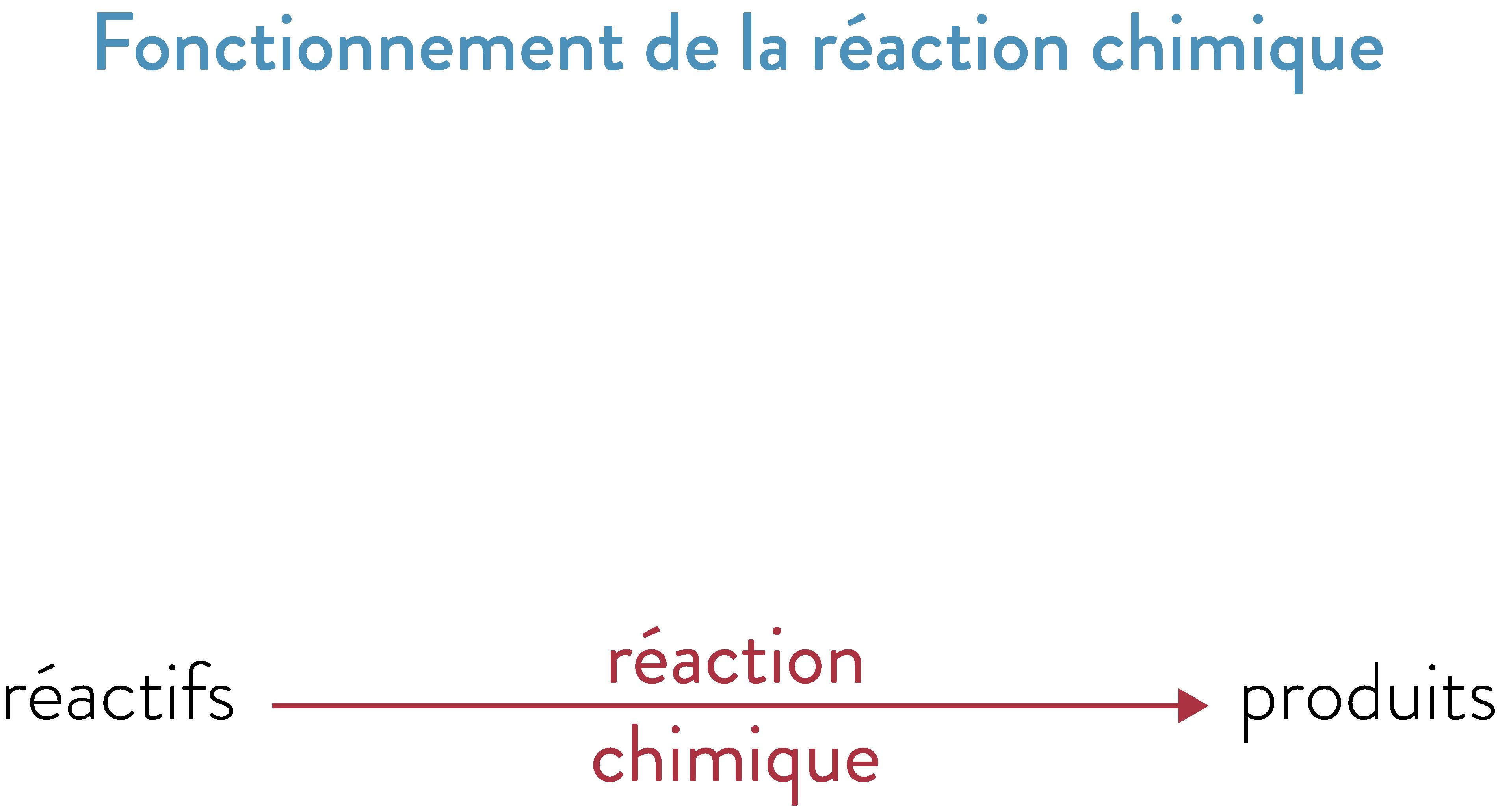 Fonctionnement de la réaction chimique 2nde