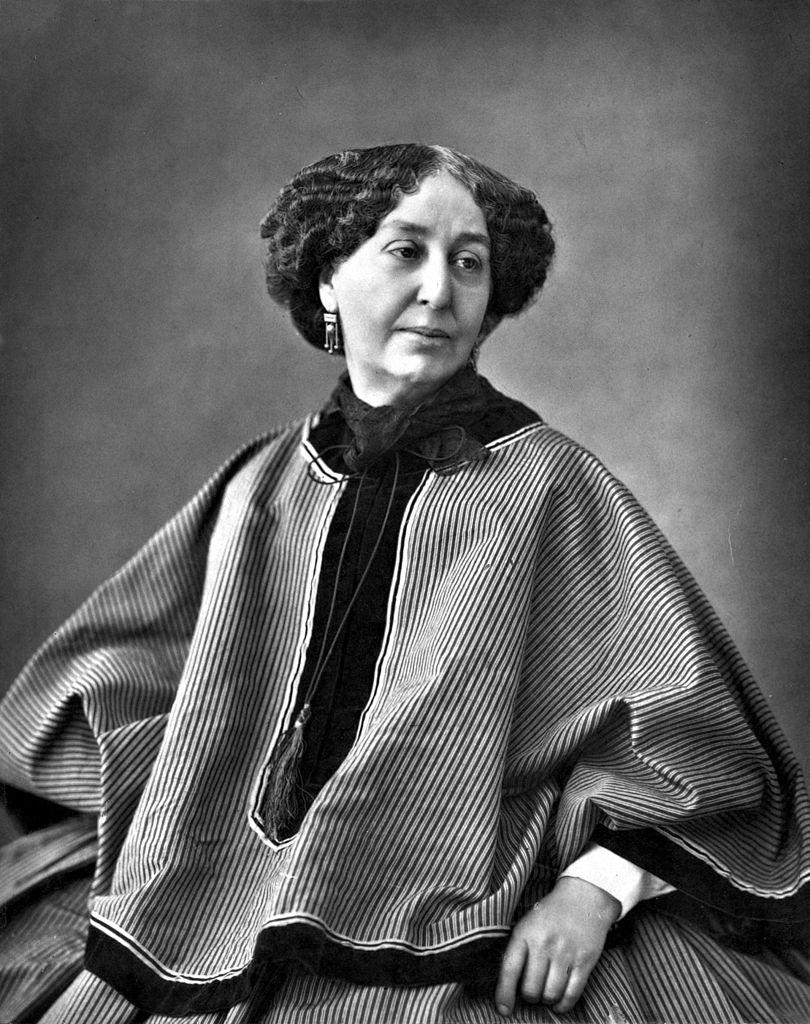 George Sand photographiée par Nadar en 1864