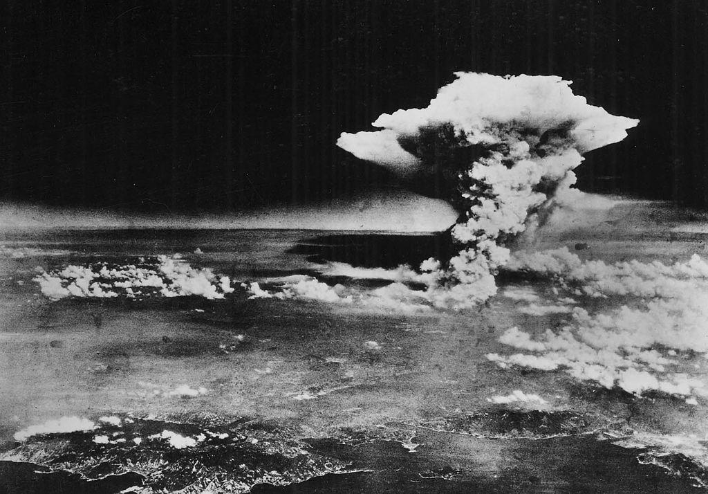 Nuage atomique sur Hiroshima, 6 août 1945