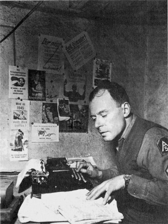 Klaus Mann, Italie, 1944