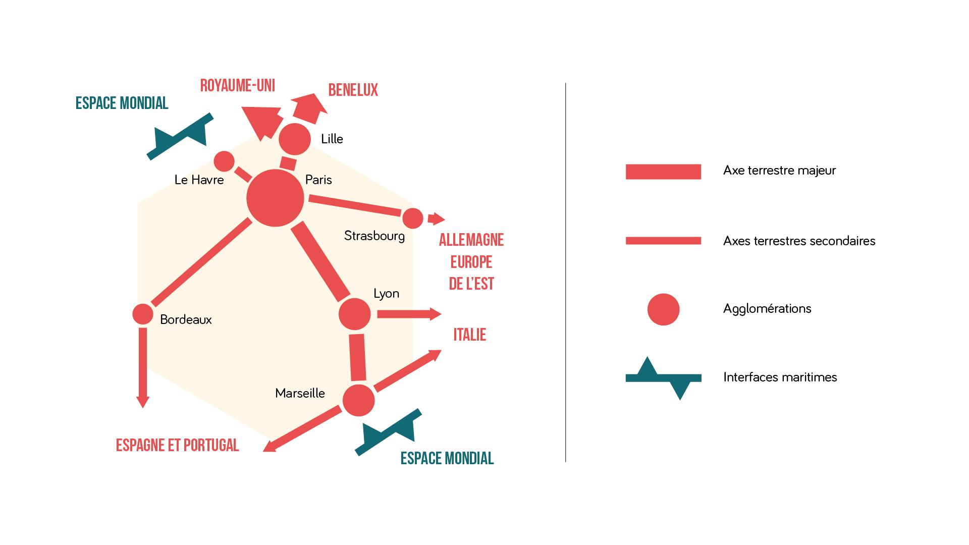 Alt Le réseau de transport français