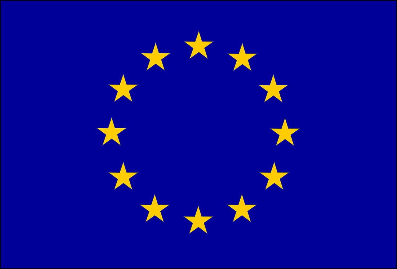 Le drapeau européen - géographie 3e