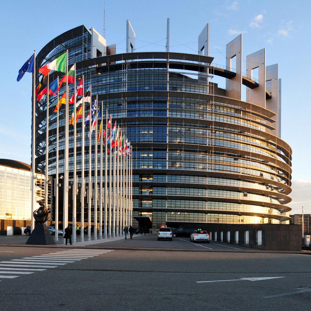 Parlement européen, Strasbourg - CC: Ralf Roletschek-art de bicyclette et de laphotographie
