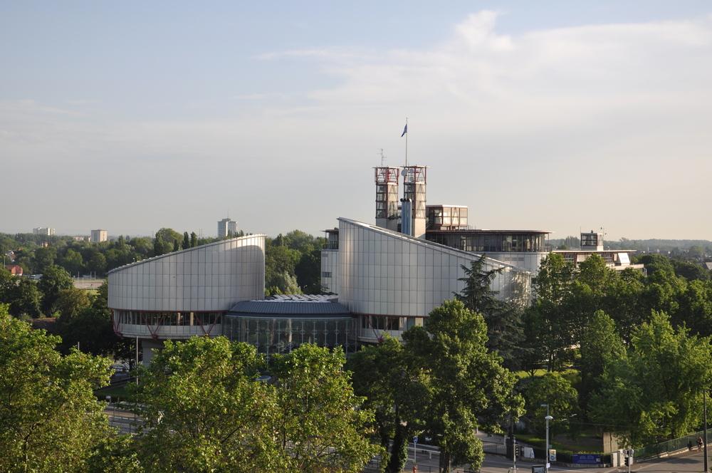 La Cour européenne des droits de l'Homme, Strasbourg - CC: Nicoleon