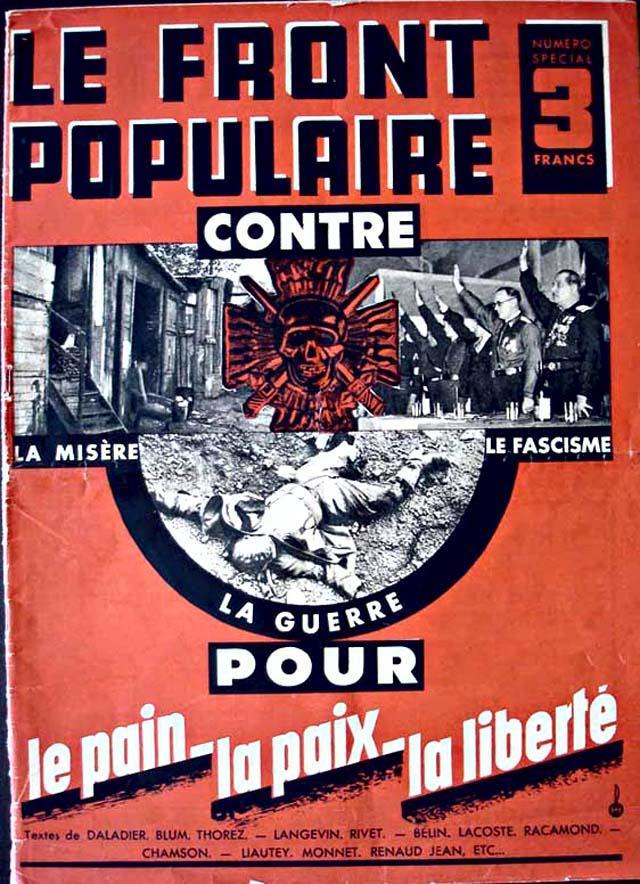 Alt Affiche du Front Populaire,1936