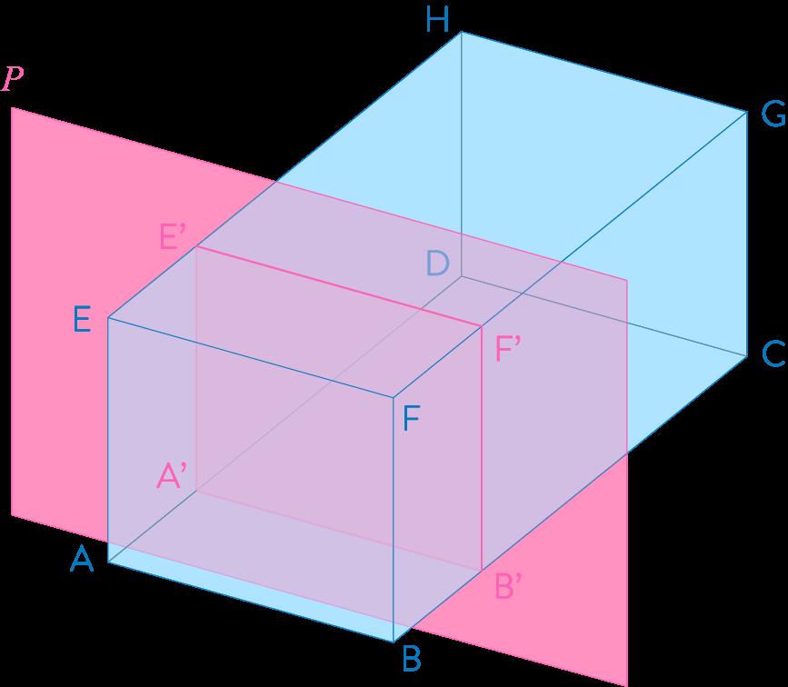 section d'un pavé droit par un plan parallèle mathématiques troisième
