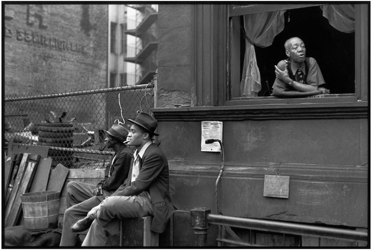 Harlem, New York, États-Unis, 1947 ©Henri Cartier-Bresson/Magnum/Courtesy Fondation Henri Cartier-Bresson