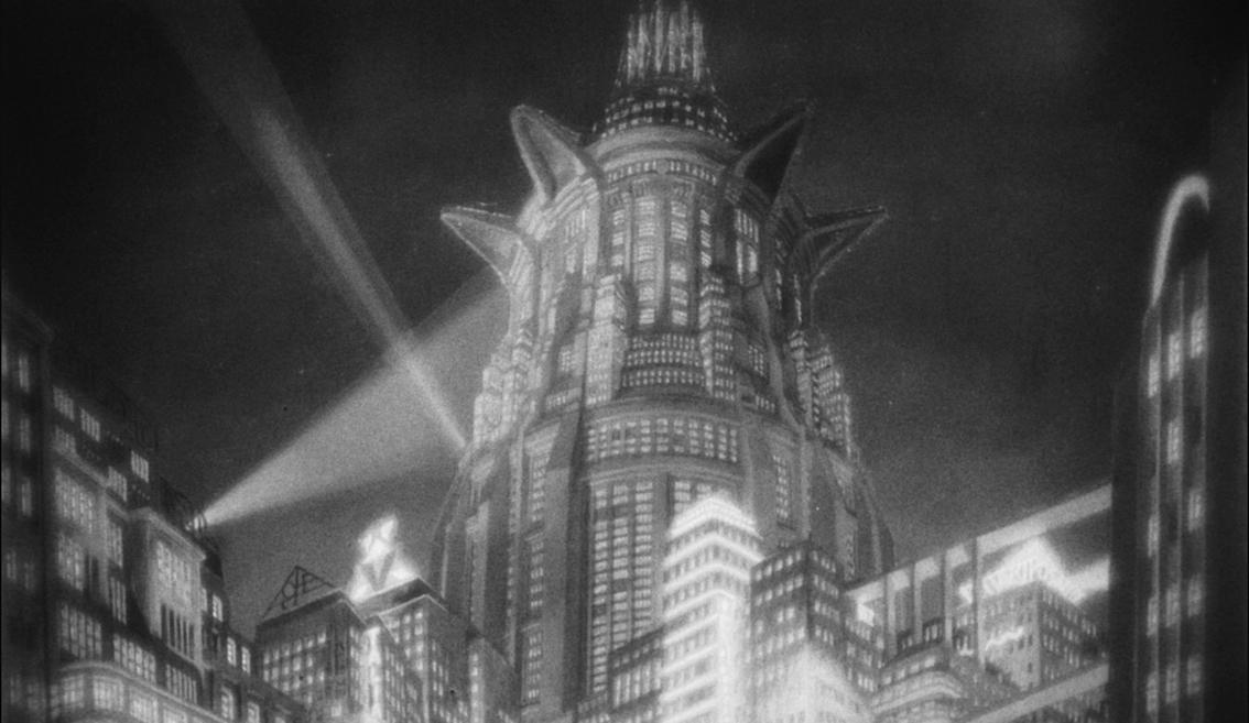 Image extraite du film Métropolis de Fritz Lang, datant de 1927