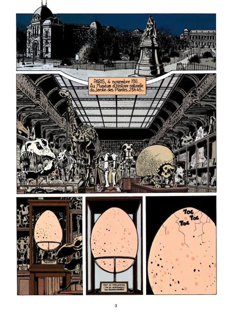 <em>Les extraordinaires aventures d'Adèle Blanc-Sec</em>, Tome 1: <em>Adèle et la Bête</em>, Jacques Tardi, 1976