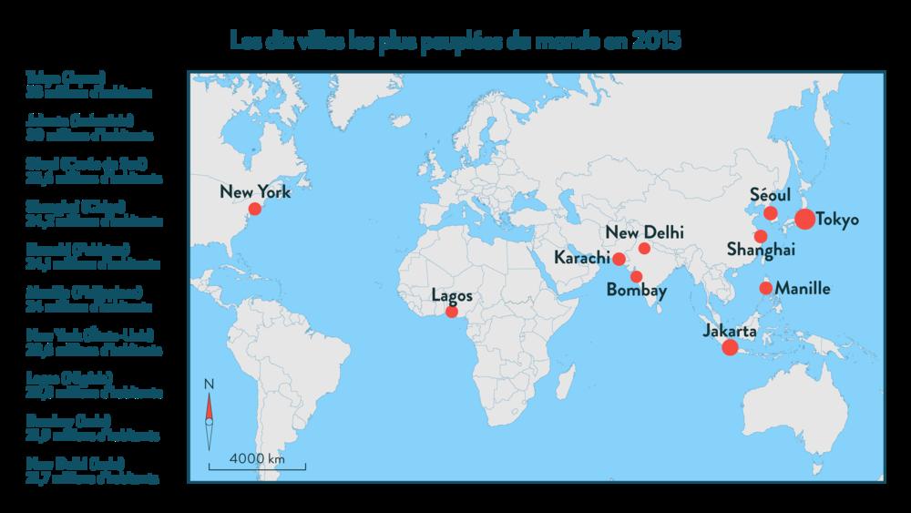 Alt Les dix villes les plus peuplées du monde en 2015
