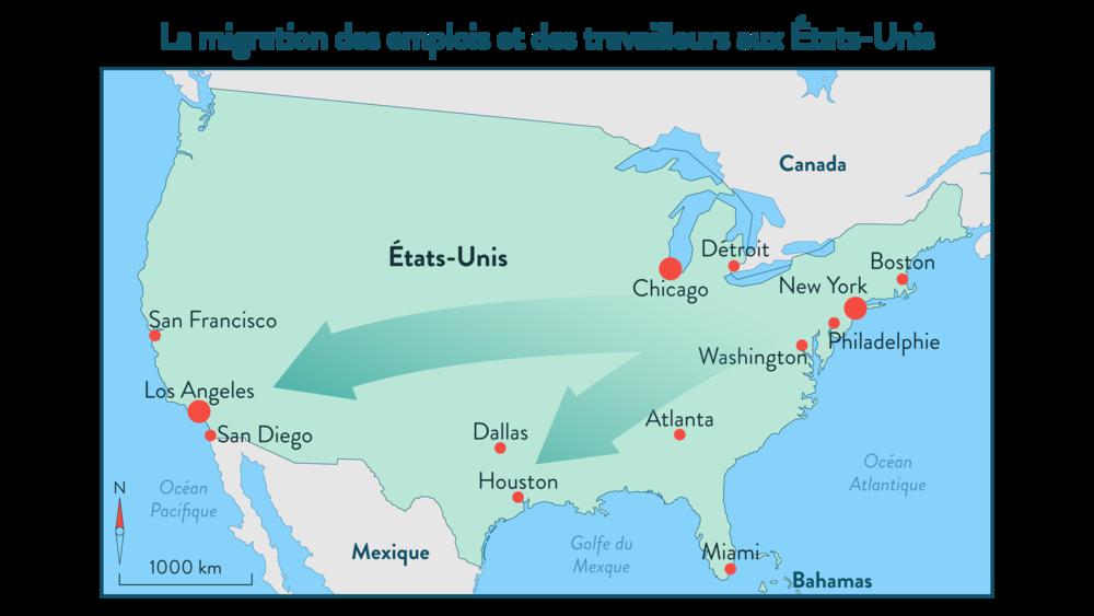 Alt La migration des emplois et des travailleurs aux États-Unis