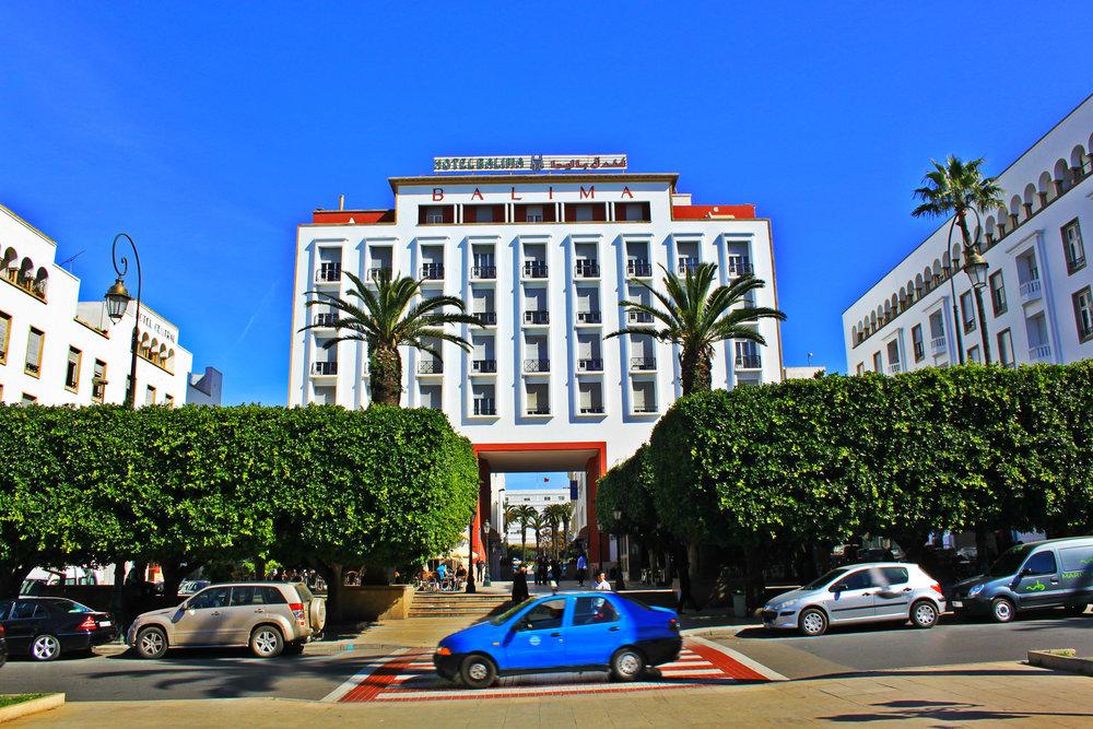 Alt L'hôtel Balima, à Rabat au Maroc - cc Nawalbennani