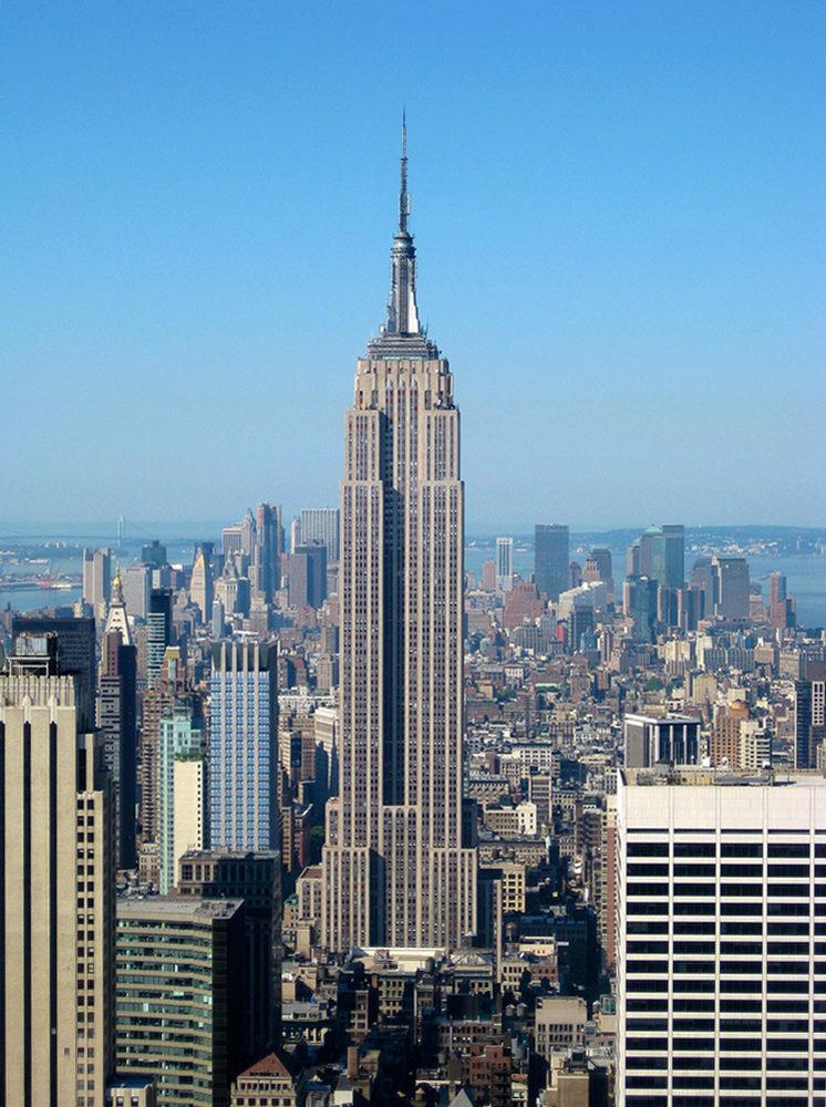 L'Empire State Building à NewYork © Jiuguang Wang