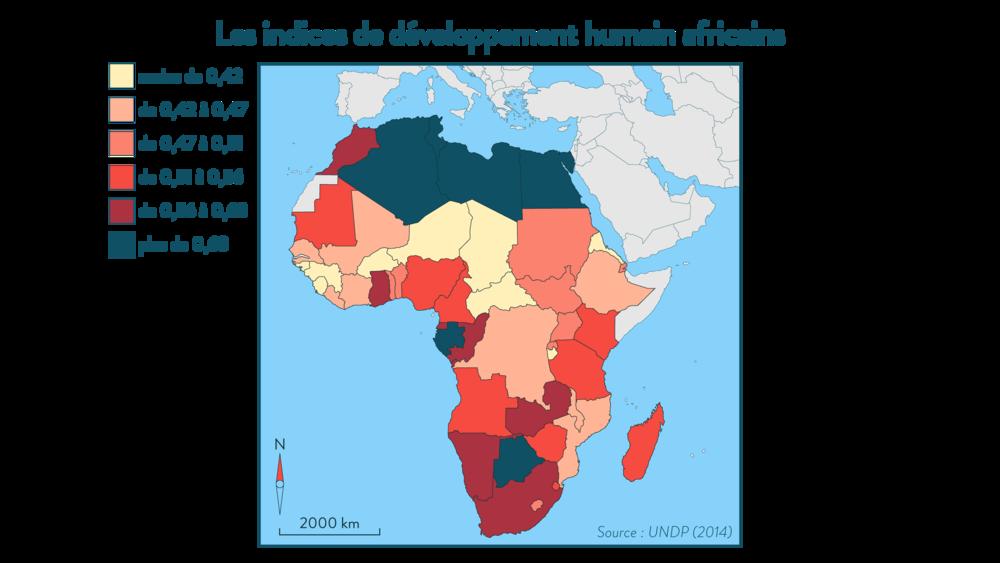 Alt  Les indices de développement humain africains