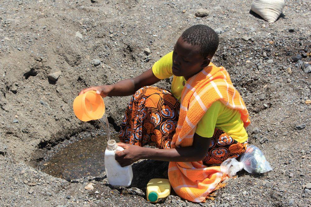 Alt Le manque d'eau potable en Afrique © DFID – UK Department for International Development