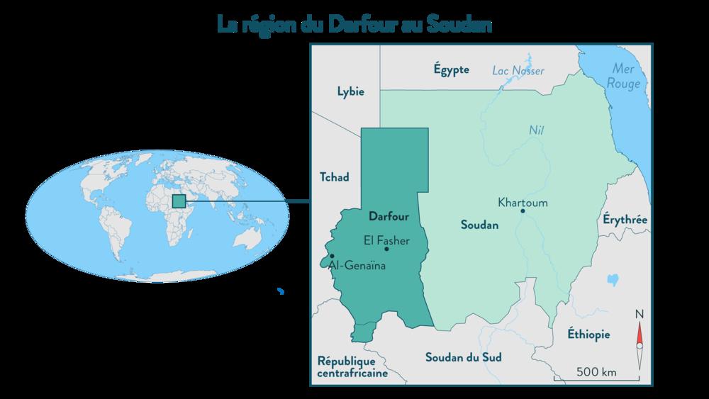 Alt La région du Darfour au Soudan