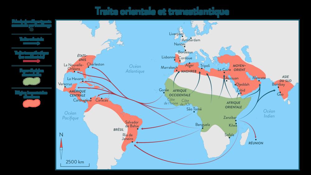 Alt Traite orientale et transatlantique