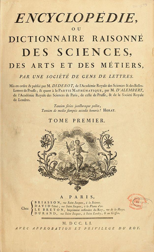 Alt Illustration de l'Encyclopédie,1751