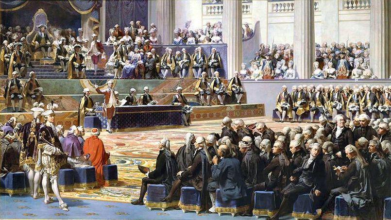 Alt Ouverture des états généraux à Versailles, 5 mai1789, Auguste Couder, 1839