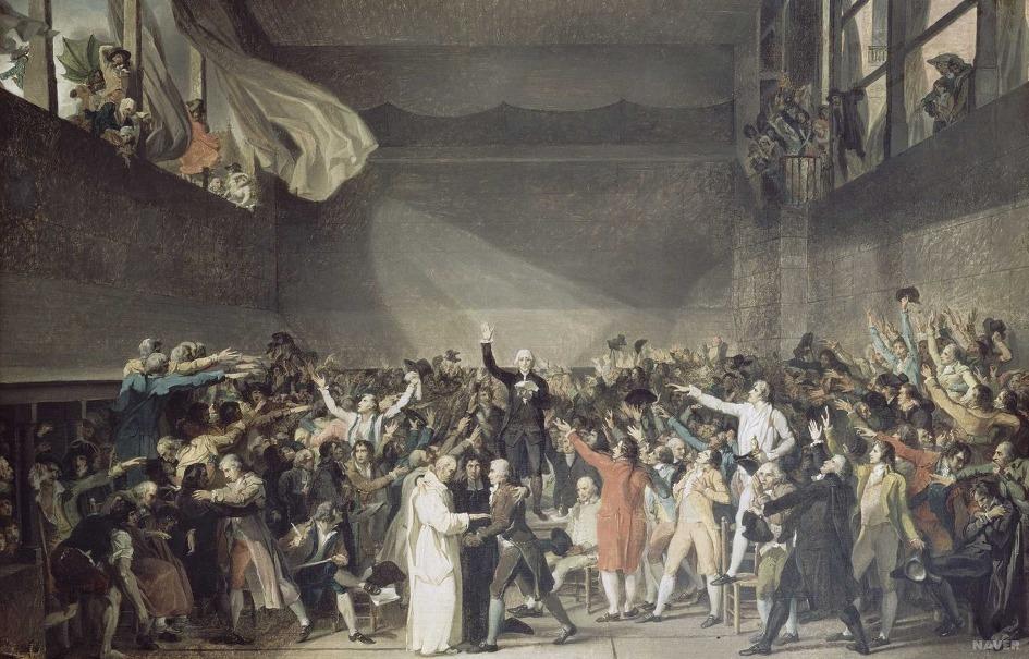 Alt Le Serment du Jeu de paume, David, 1791