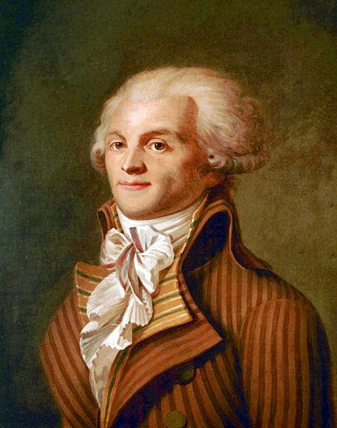 Alt Portrait de Maximilien de Robespierre,1790