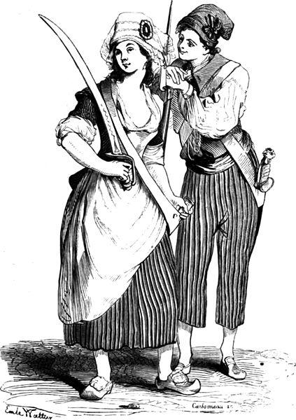 Alt Sans-culottes, Émile Wattier, 1842