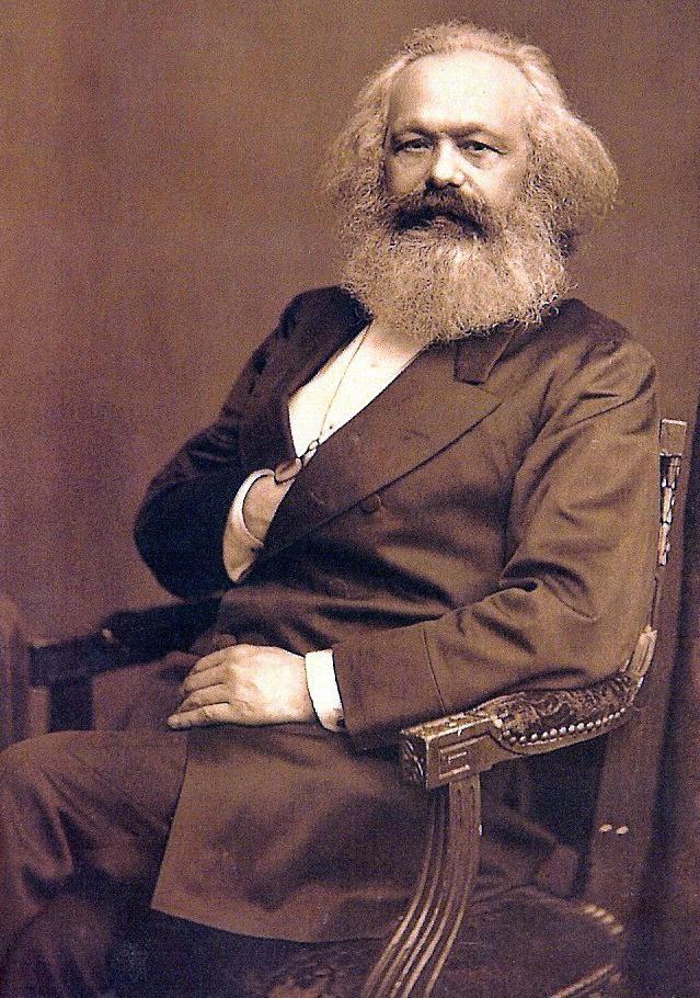 Alt Portrait de Karl Marx,1875