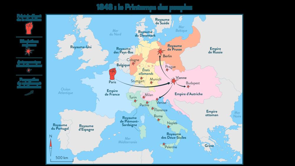 Alt Le printemps des peuples: 1848