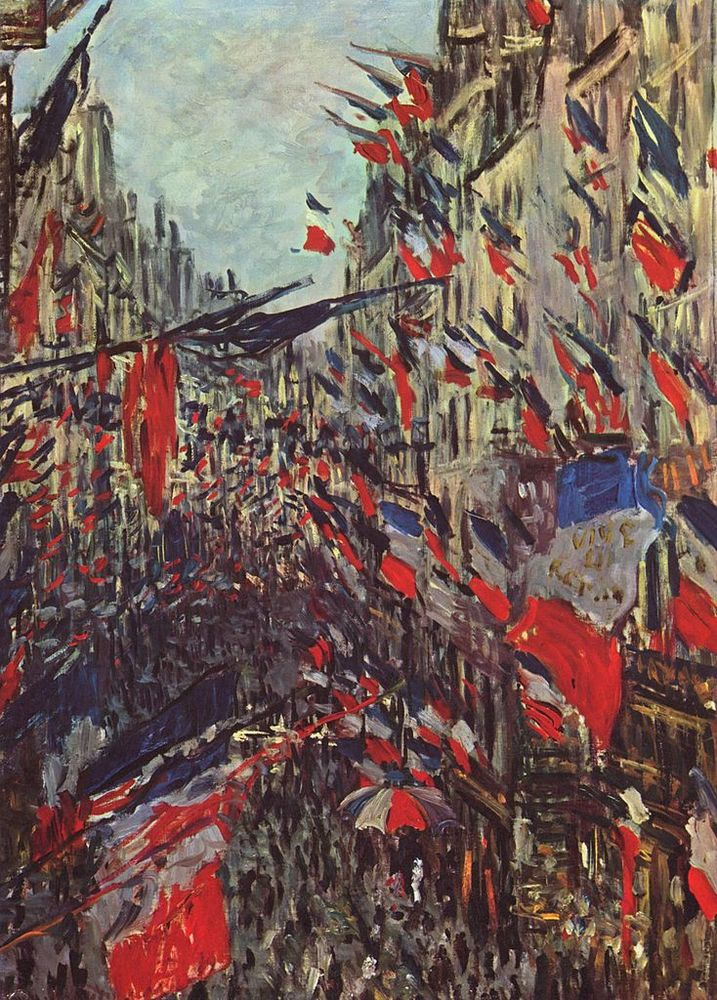 Alt La Rue Saint Denis à Paris, Claude Monet, 1878