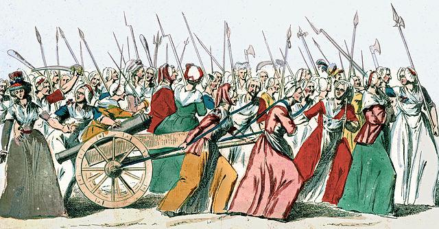 Les Parisiennes marchent sur Versailles - 1789, musée Carnavalet, Paris