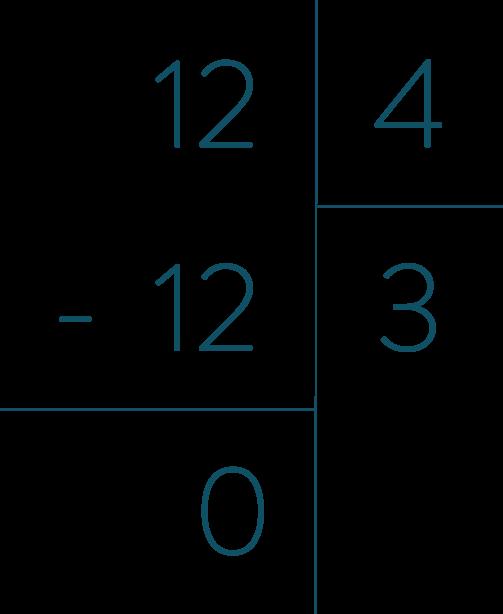 Reconnaitre un multiple et un diviseur mathématiques quatrième