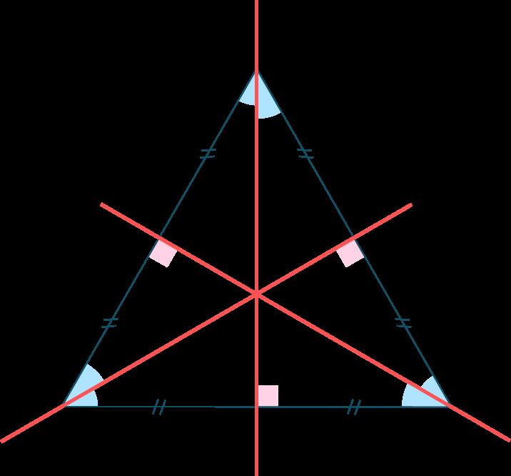 Triangle équilatéral-Mathématiques-4e
