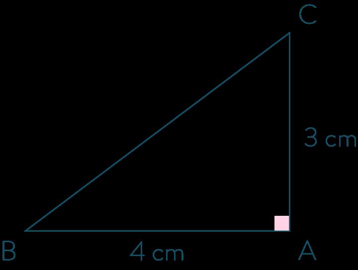 Triangle rectangle en A-Mathématiques-4e