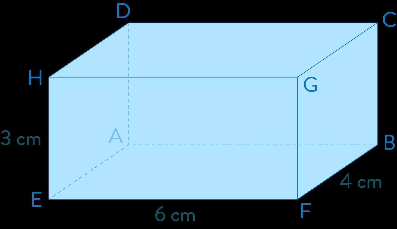 pavé droit mathématiques quatrième