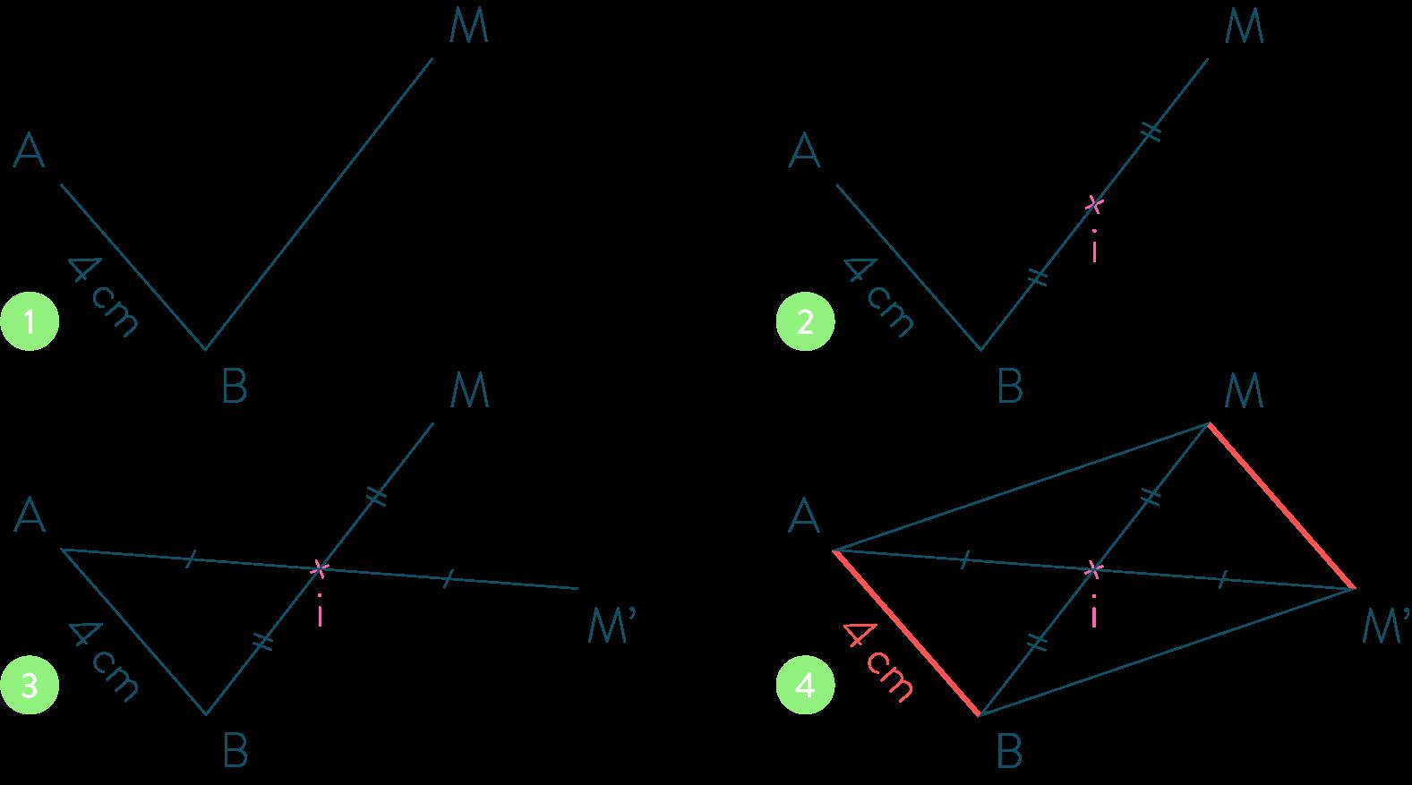 Reproduire une translation-Mathématiques-4e