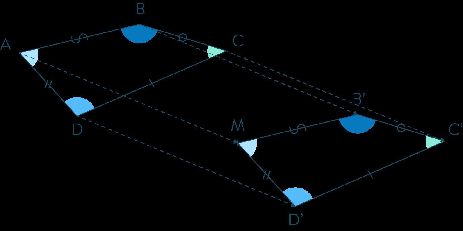 Exemple d'une translation sur une figure-Mathématiques-4e