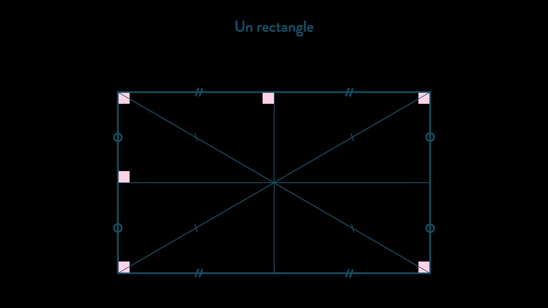 Un rectangle-Mathématiques-4e