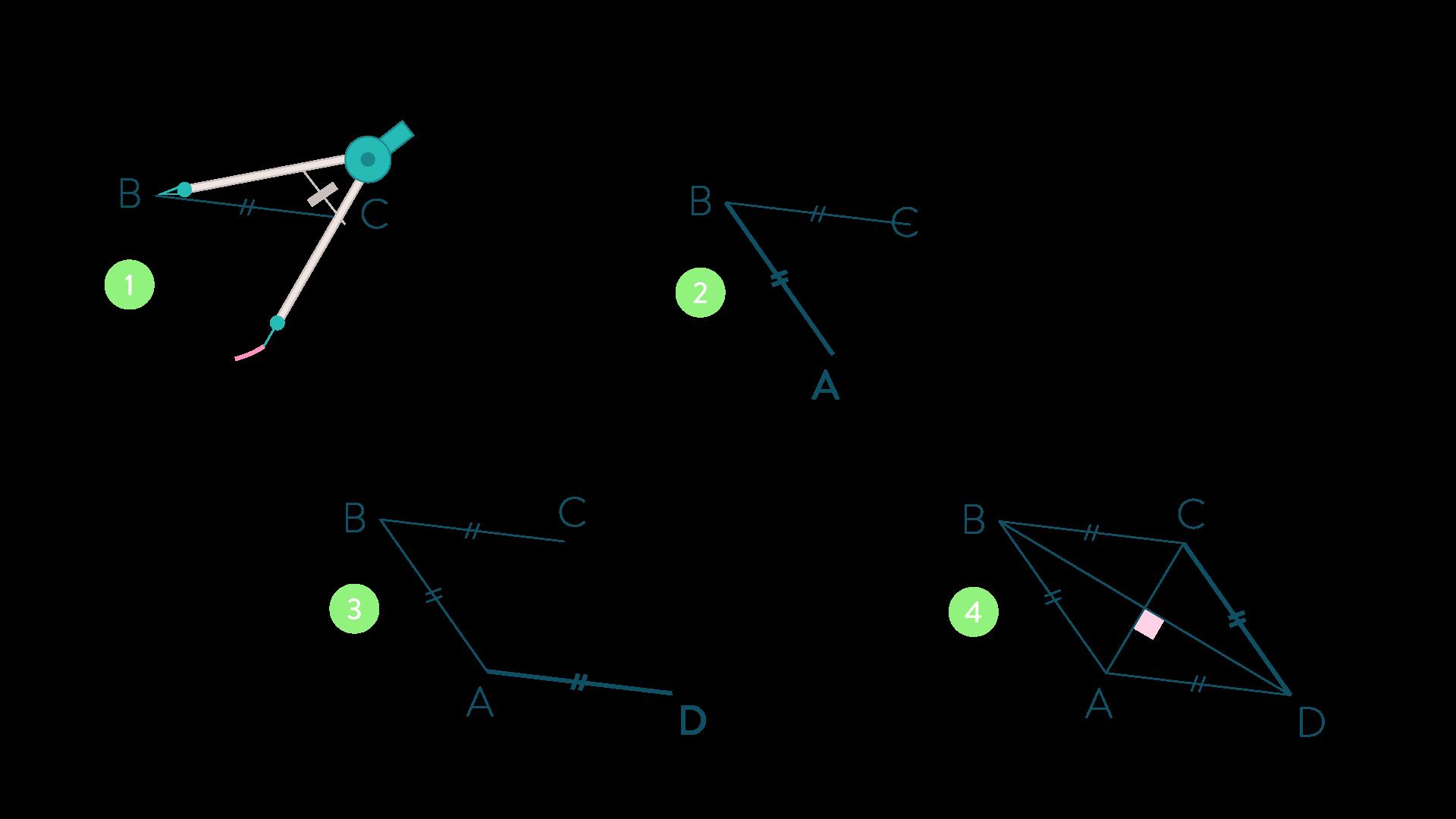 Ce quadrilatère est un losange-Mathématiques-4e