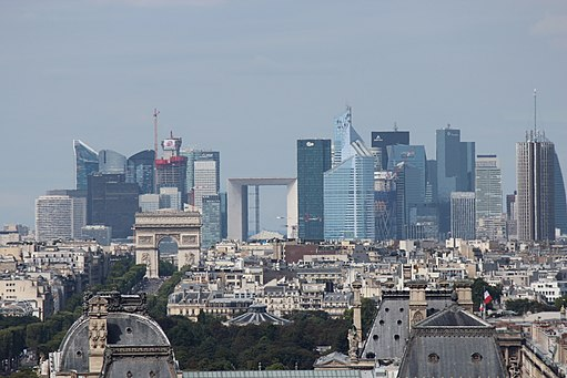 Photographie du quartier de la Défense (Paris)