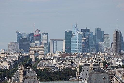 Photographie du quartier de la Défense (Paris)