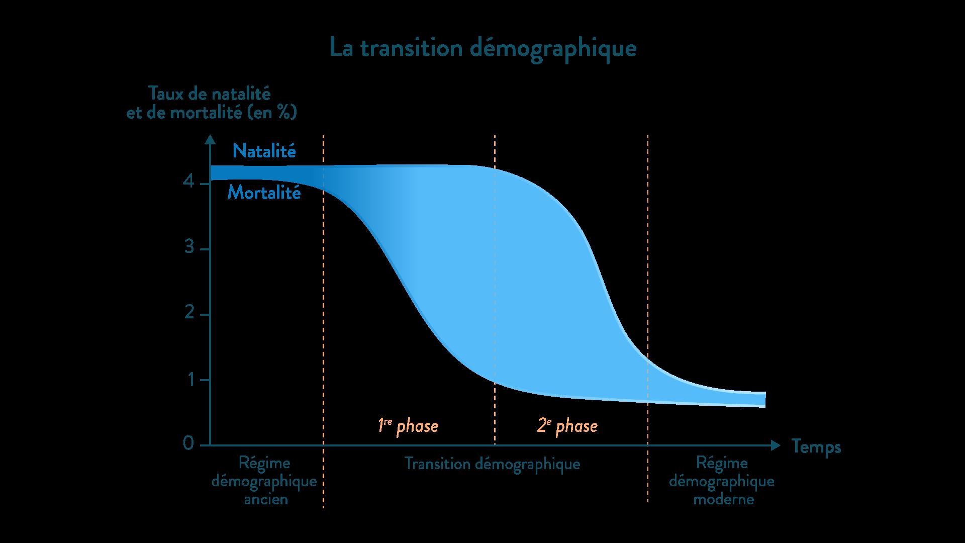 La transition démographique géographie cinquième