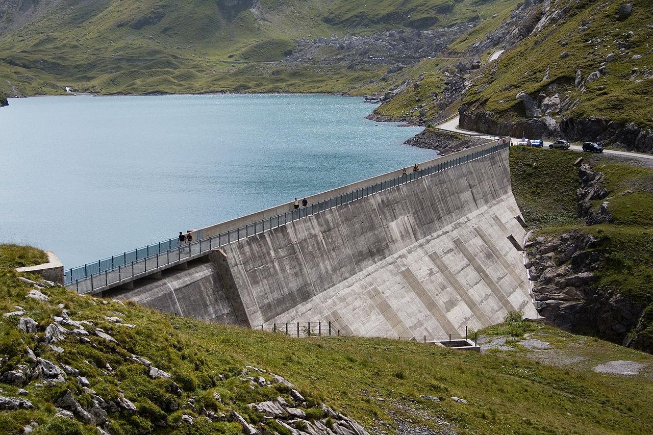 Le barrage du Sanetsch, en Suisse ©Ludovic Péron